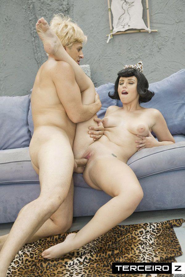 Os Flintstones - Cosplay Pornô do Fred comendo a mulher do Barney