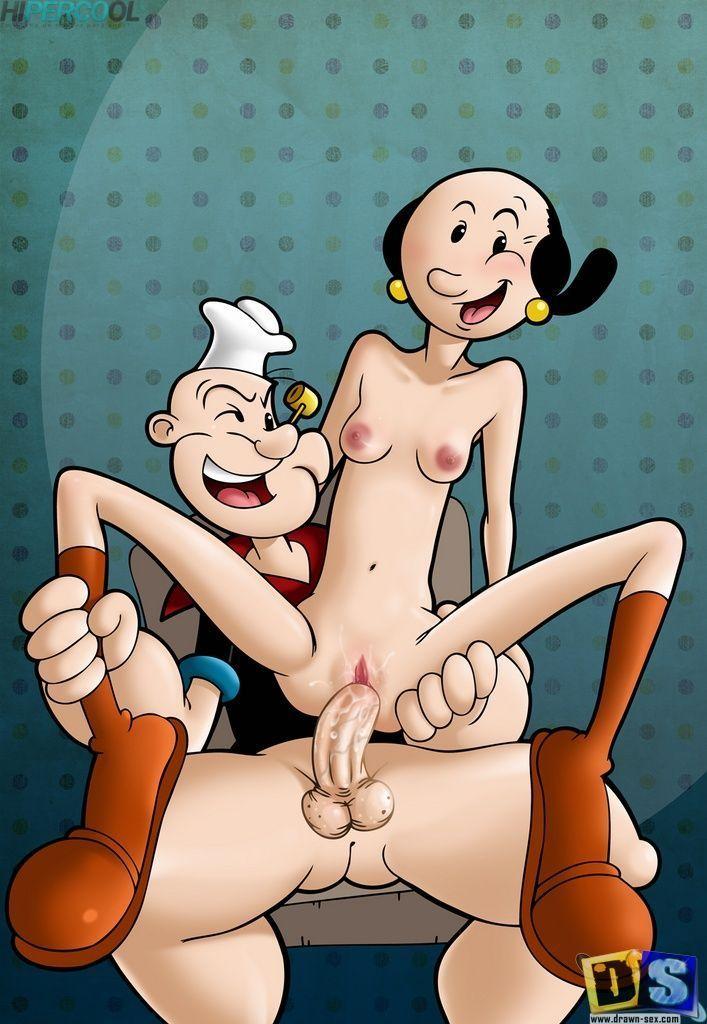 Popeye - As aventuras do marinheiro com a puta magrela da Olivia Palito