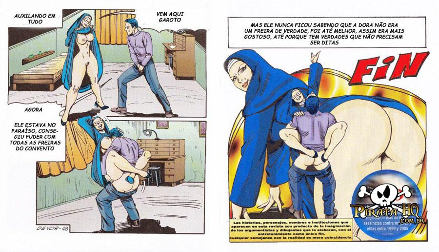 Isso é Pecado - Um freira sendo enrabada pelo padre