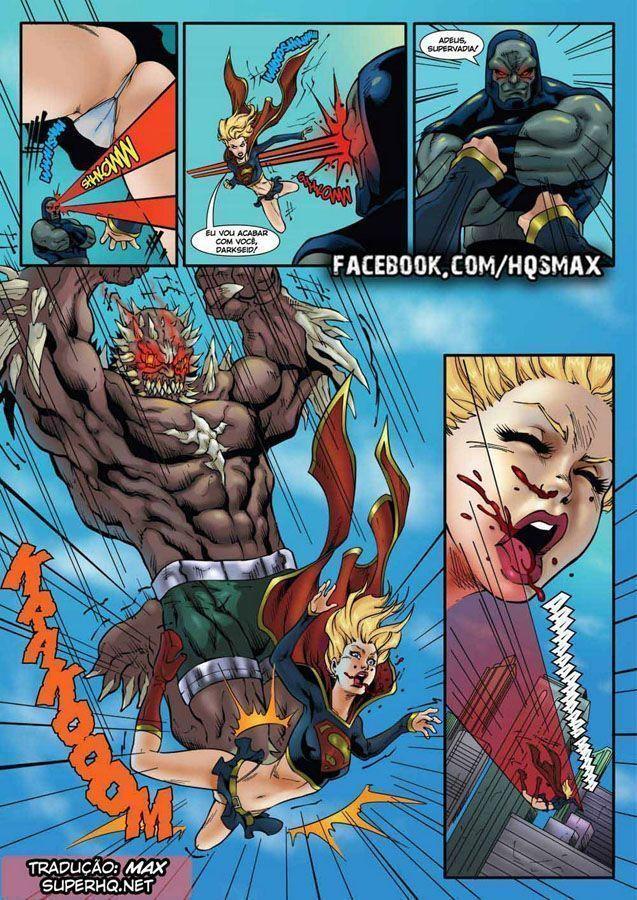 O Fim da Supergirl que é estuprada por 3 vilões superpoderosos