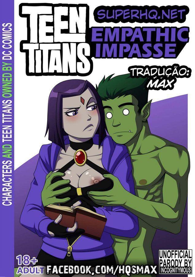 Teen Titans: A Meditação - Mutano finalmente come a Ravena