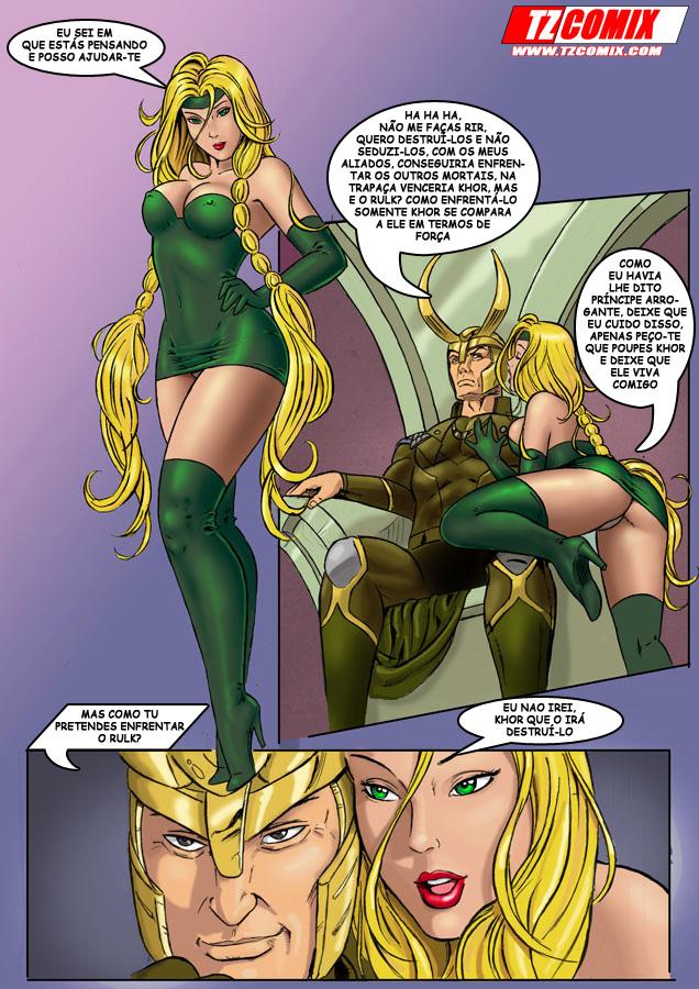 Os Vingativos Pornô - Paródia dos Vingadores Guerra Infinita