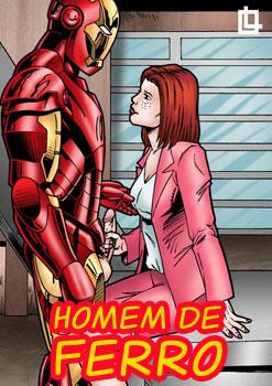 Quadrinhos eroticos do homem de ferro parodia sexual