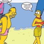 Os Simpsons Sexo na Praia