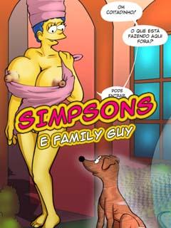 Os Simpsons e Family Guy