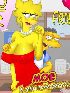 Os Simpsons – Moe é meu Namorado